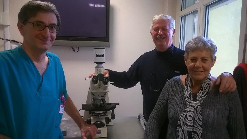 Consegna telescopio Ospedale di Monza
