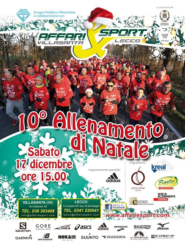 Allenamento di Natale con Affari & Sport