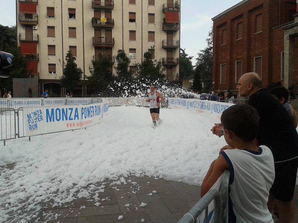 Monza Power Run - The beer foam 2013
